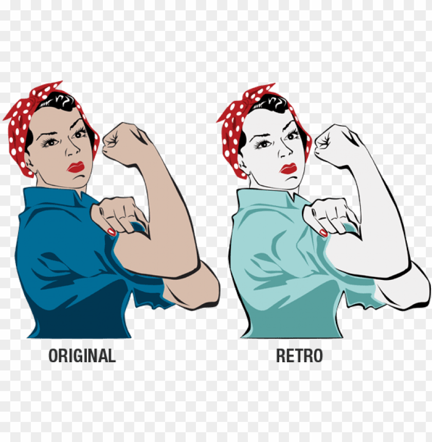 free PNG rosie the riveter - rosie the riveter clipart transparent PNG image with transparent background PNG images transparent