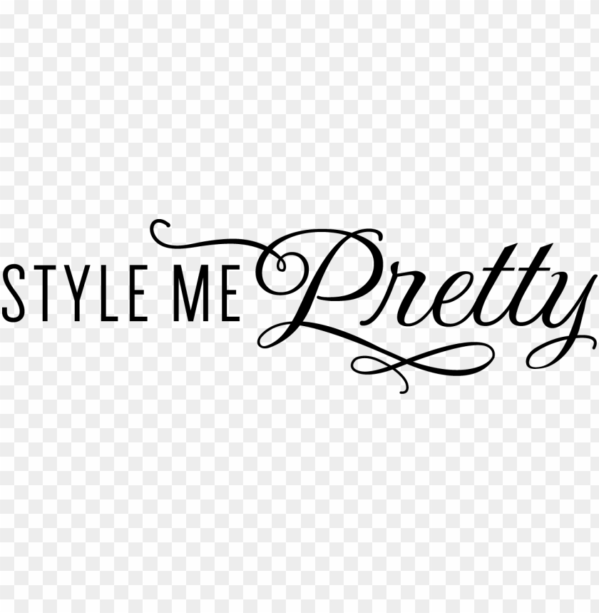 free PNG roud member of style me pretty's prestigious invitation-only - style me pretty logo PNG image with transparent background PNG images transparent