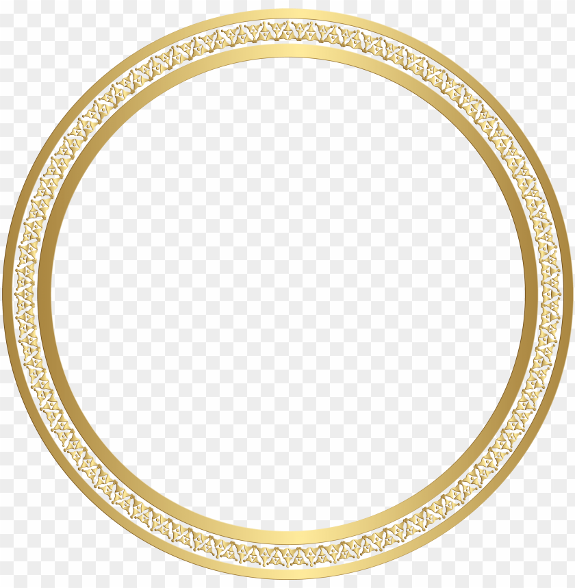 free PNG round frame gold clip - picture frame PNG image with transparent background PNG images transparent