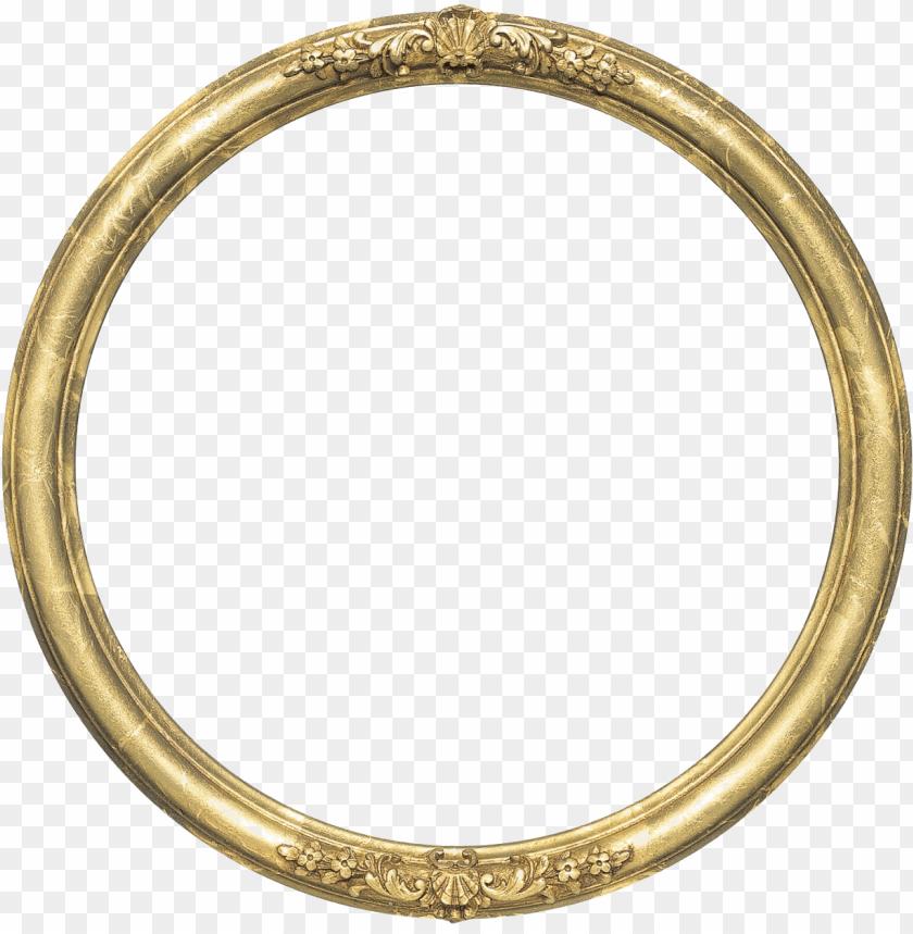 free PNG round frame png transparent image - circular gold frame PNG image with transparent background PNG images transparent