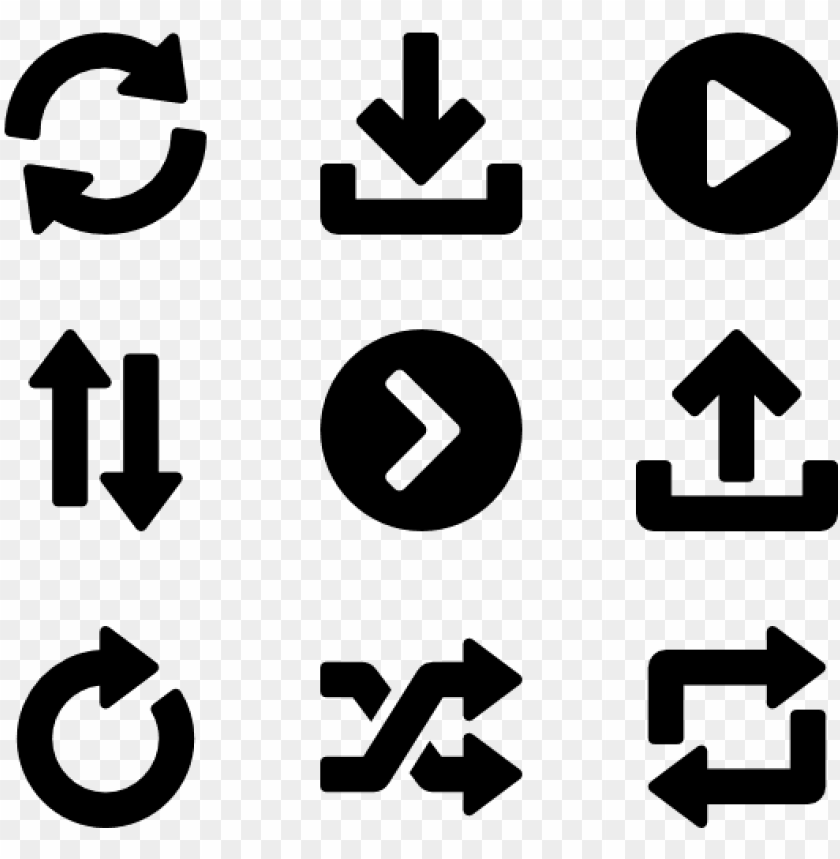 free PNG round icon packs svg psd  - arrow round icon png - Free PNG Images PNG images transparent