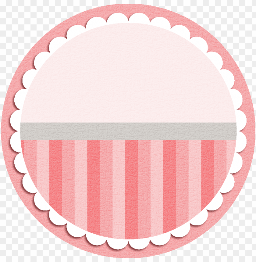 free PNG round labels, label tag, baby scrapbook, free - cupcake frame PNG image with transparent background PNG images transparent