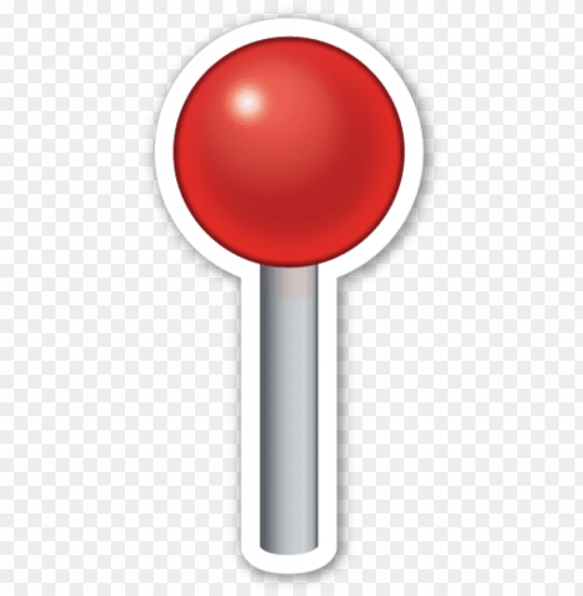 round pushpin emoji PNG image with transparent background@toppng.com