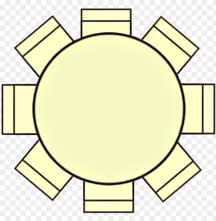 Round Table Seating Plan Png Image With Transparent Background Toppng