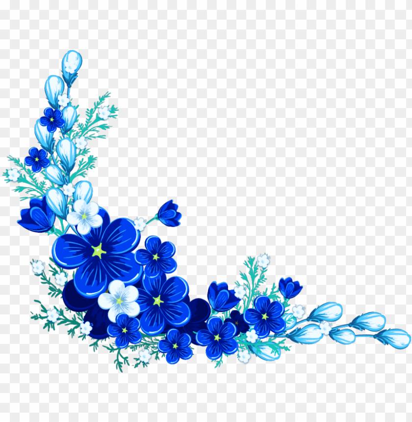 free PNG royal blue flower PNG image with transparent background PNG images transparent