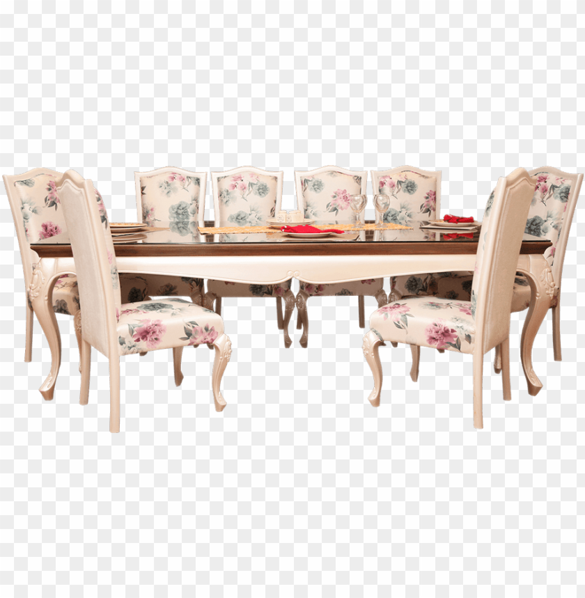 free PNG royal dutchess dining table - royal dining tables PNG image with transparent background PNG images transparent