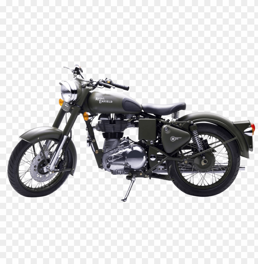 free PNG Download Royal Enfield Classic 500 Green Motorcycle Bike png images background PNG images transparent