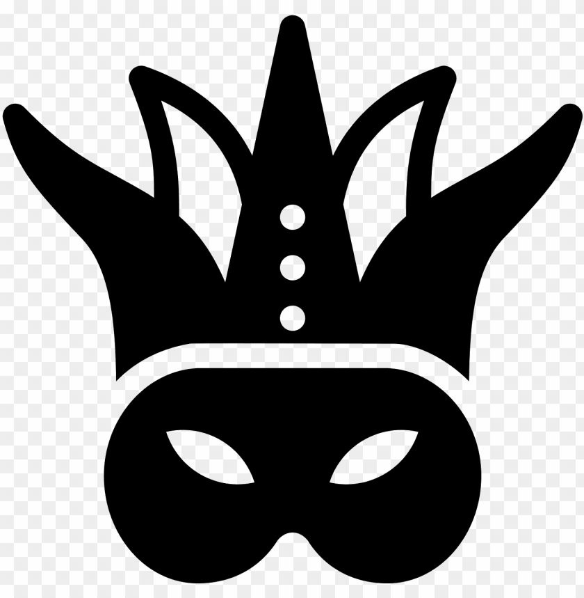 free PNG royalty free library computer icons clip art - mardi gras mask clipart black and white PNG image with transparent background PNG images transparent