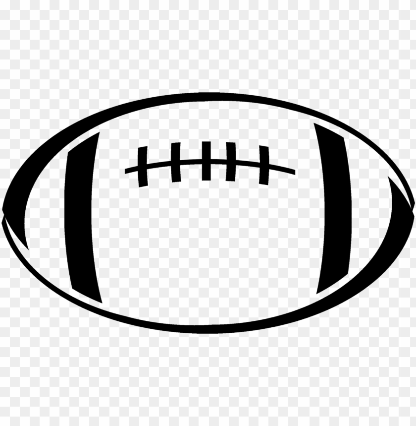 Rugby Ball American Football Drawing Football Clipart Black And White Png Image With Transparent Background Toppng