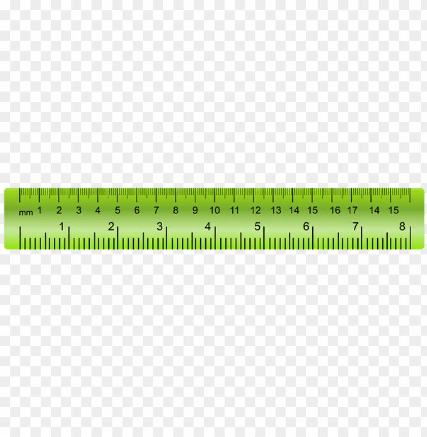 free PNG Download ruler green transparent clipart png photo   PNG images transparent
