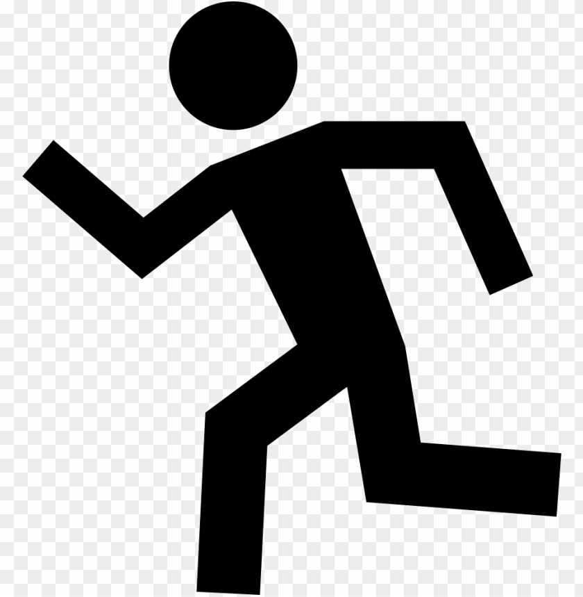 free PNG running man silhouette to left comments - running man left PNG image with transparent background PNG images transparent