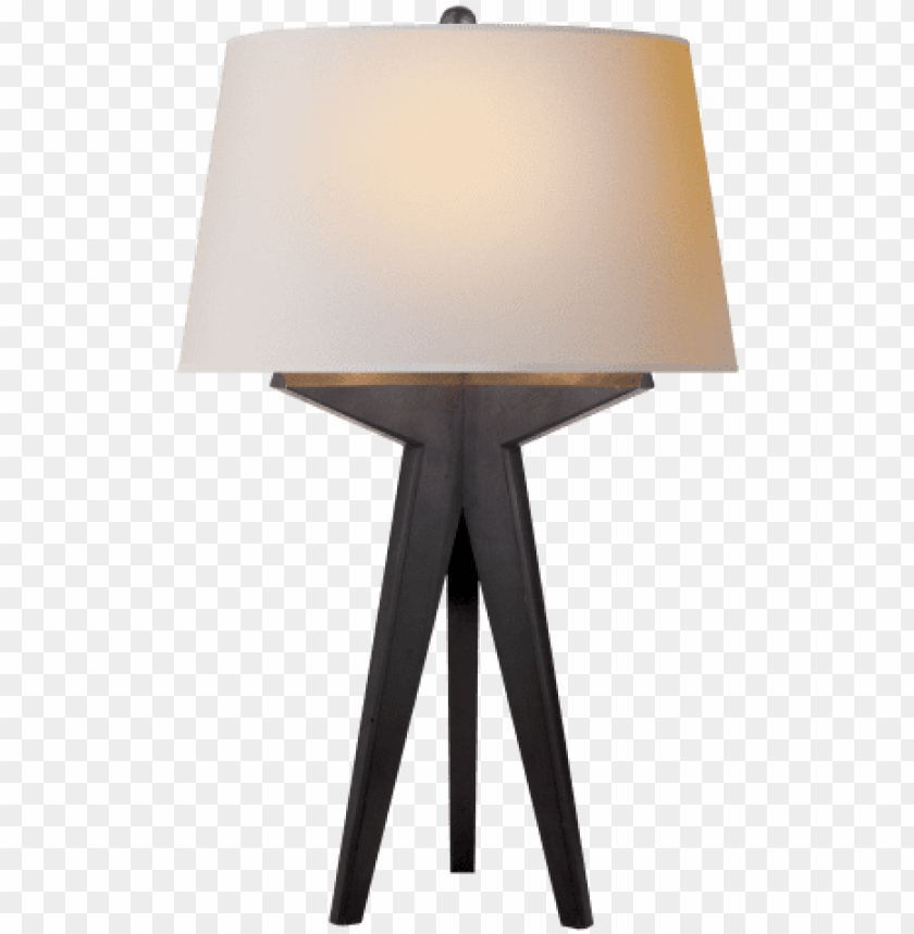 free PNG russell modern tripod table lamp in aged iron with - table lamp lighting PNG image with transparent background PNG images transparent