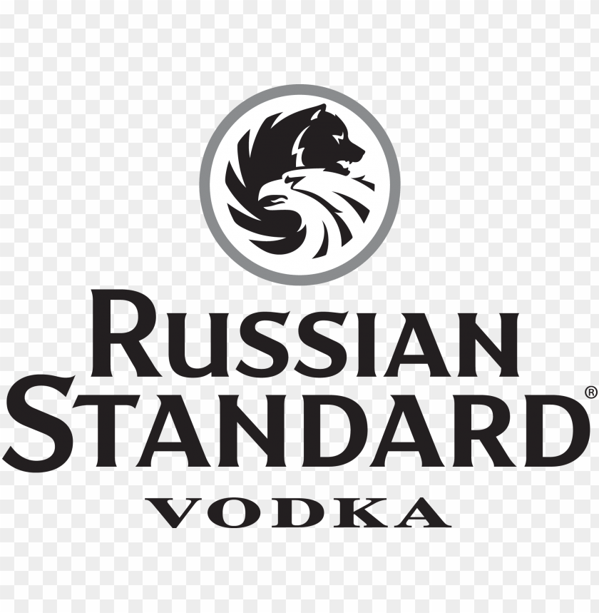 free PNG russian standard vodka logo - russian standard vodka logo vector PNG image with transparent background PNG images transparent