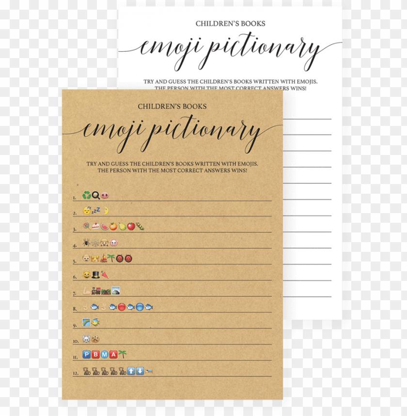 Baby Shower Emoji Pictionary Answer Key Free | diy craft ...
