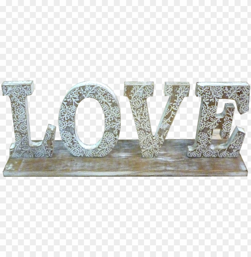 free PNG rustic wooden love sign - love PNG image with transparent background PNG images transparent