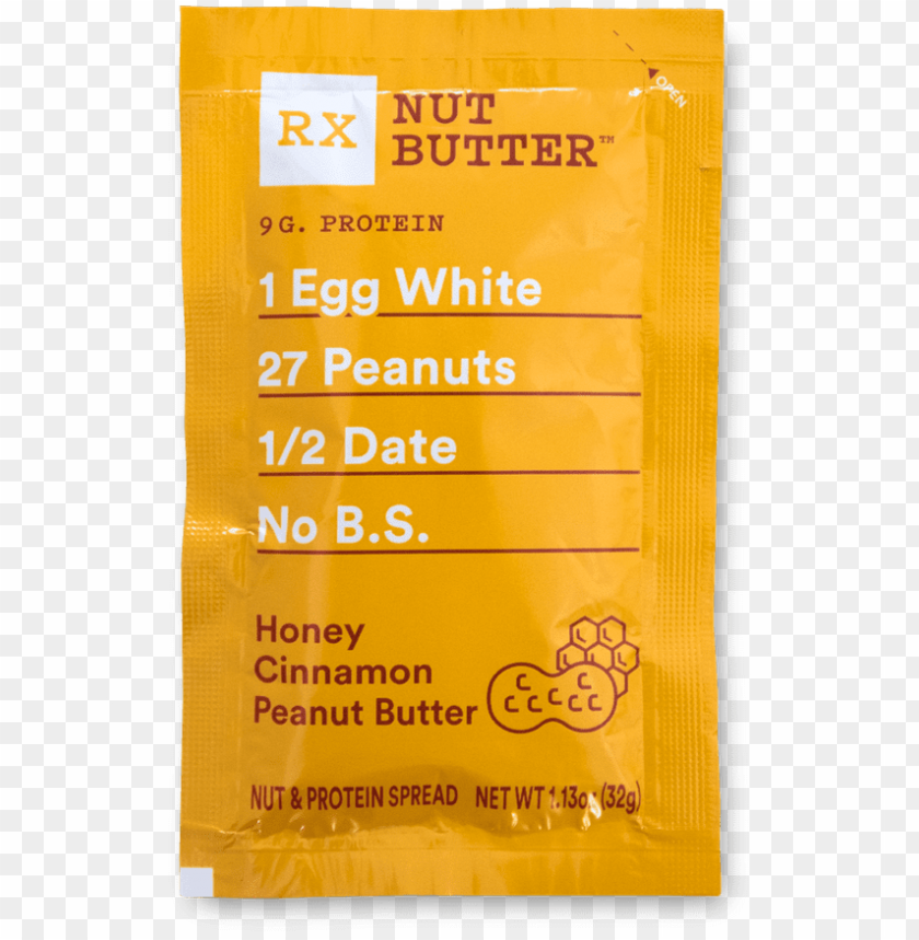 rx nut butter honey cinnamon peanut butter - rxbar - protein bar coffee chocolate - 12 bars PNG image with transparent background@toppng.com