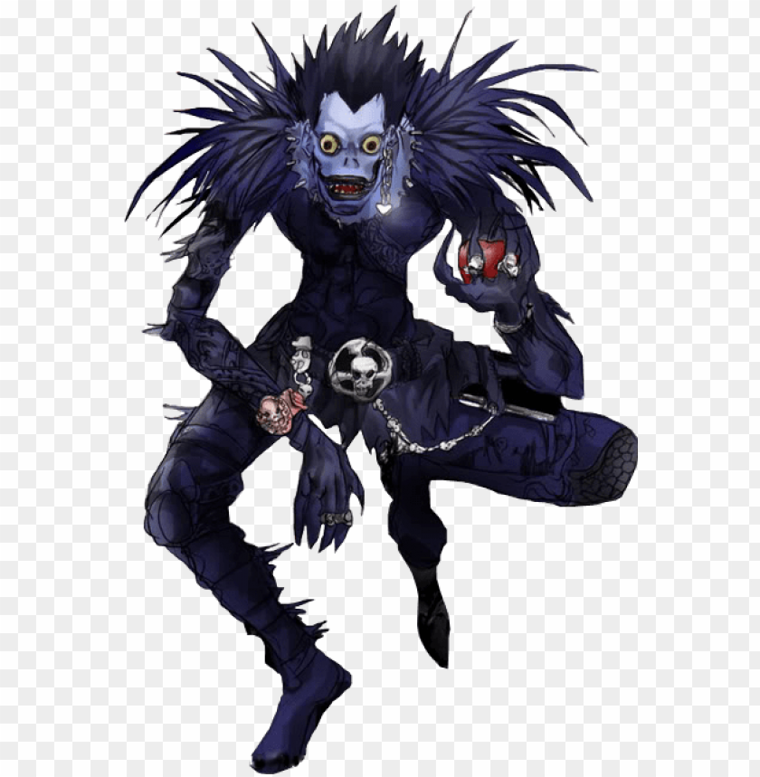 free PNG ryuk death note png - death note ryuk PNG image with transparent background PNG images transparent