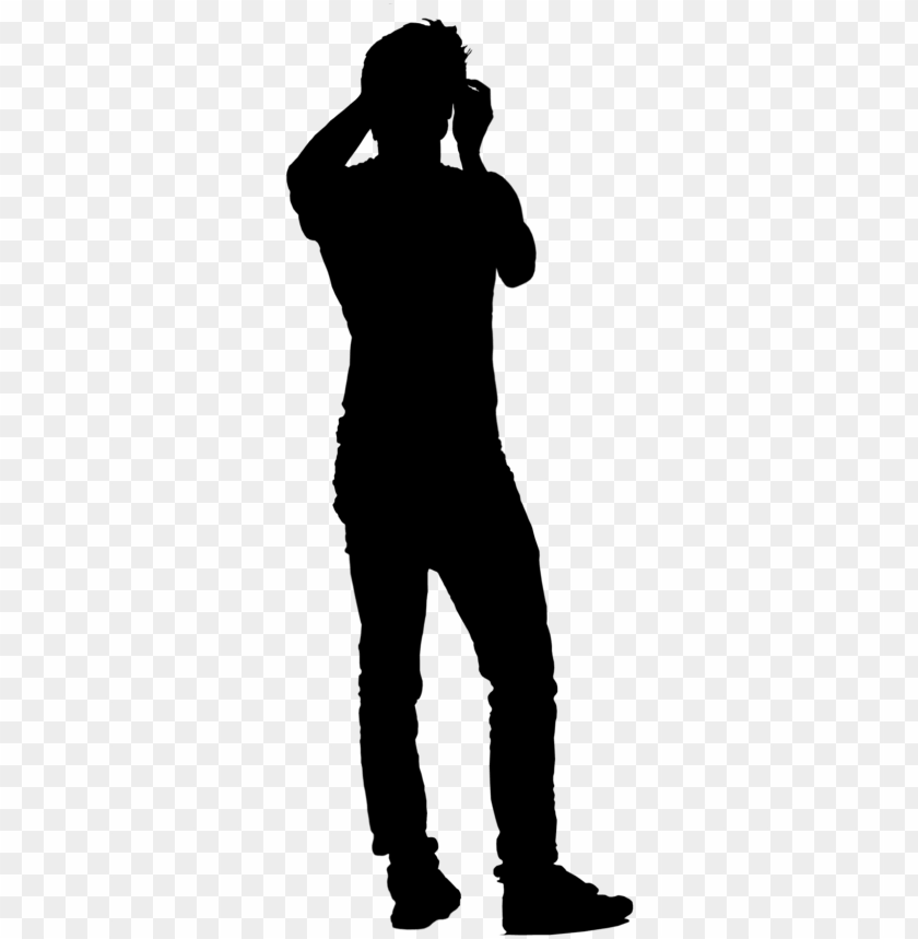 free PNG s 0050 - black and white people PNG image with transparent background PNG images transparent