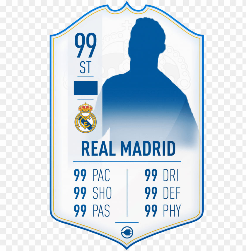 S19 Real Madrid Card Icon Card Fifa 19 Png Image With Transparent Background Toppng