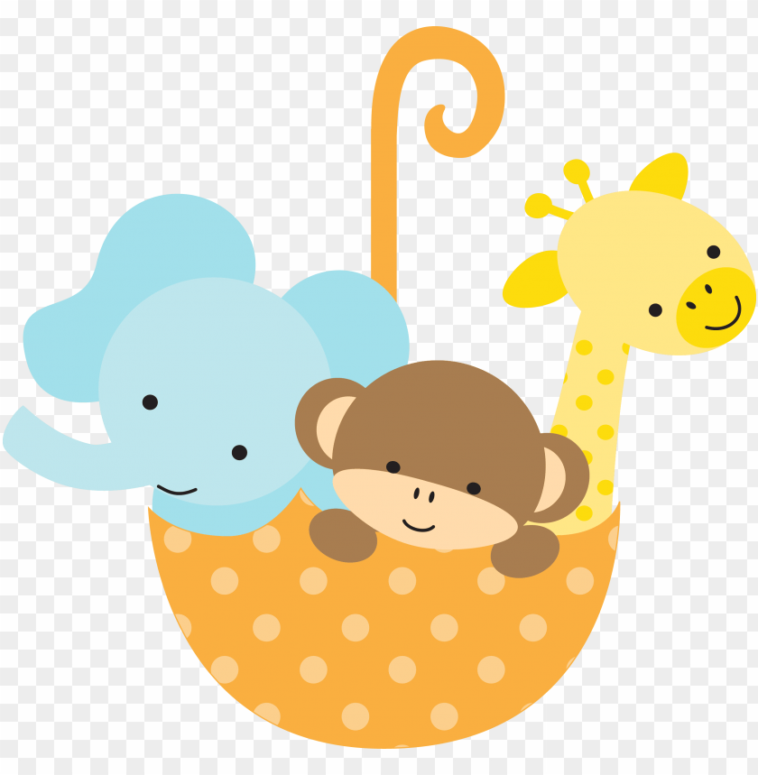 Safari Baby Shower Clipart Gender Neutral Baby Shower Clip Art Png Image With Transparent Background Toppng