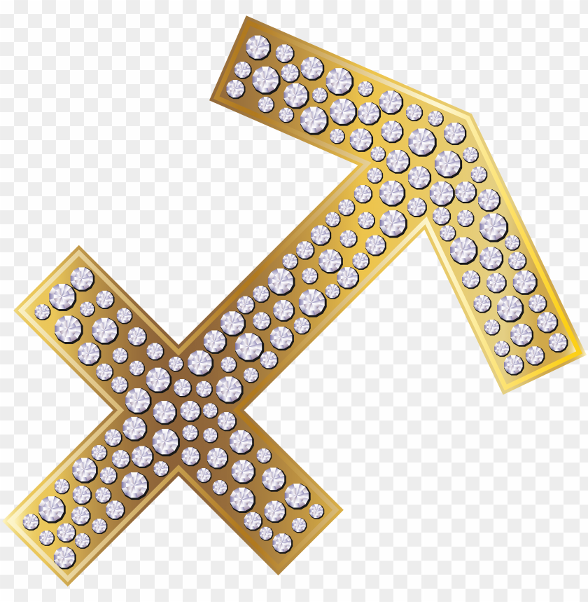 free PNG sagittarius zodiac sign gold png clip art image gallery - astrological si PNG image with transparent background PNG images transparent