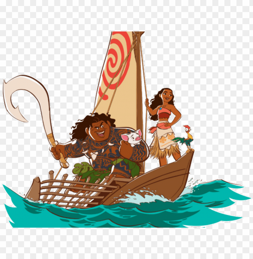 free PNG sailboat clipart moana - moana shi PNG image with transparent background PNG images transparent