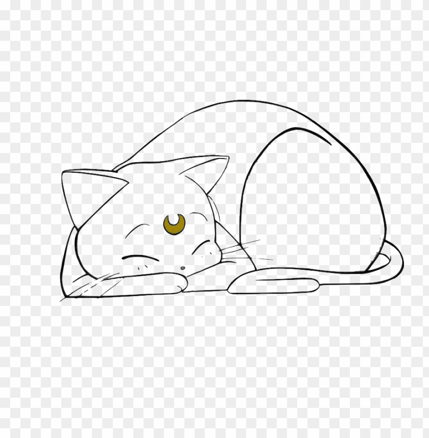 Sailor Moon Cat Png Image With Transparent Background Toppng