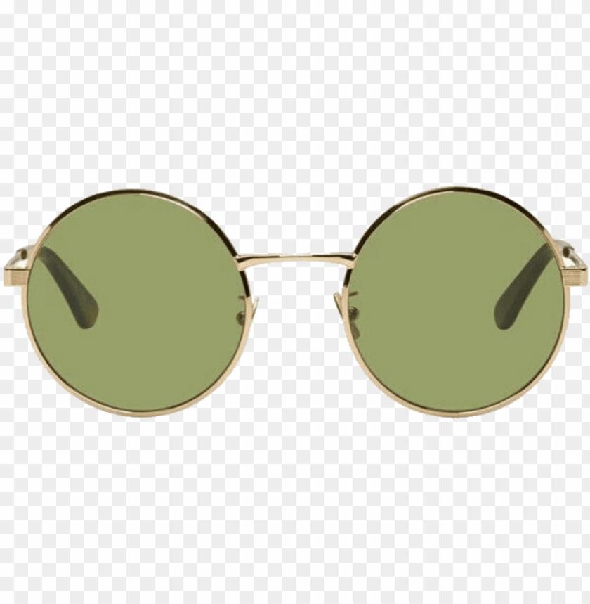 free PNG saint laurent gold sl 136 zero retro sunglasses PNG image with transparent background PNG images transparent