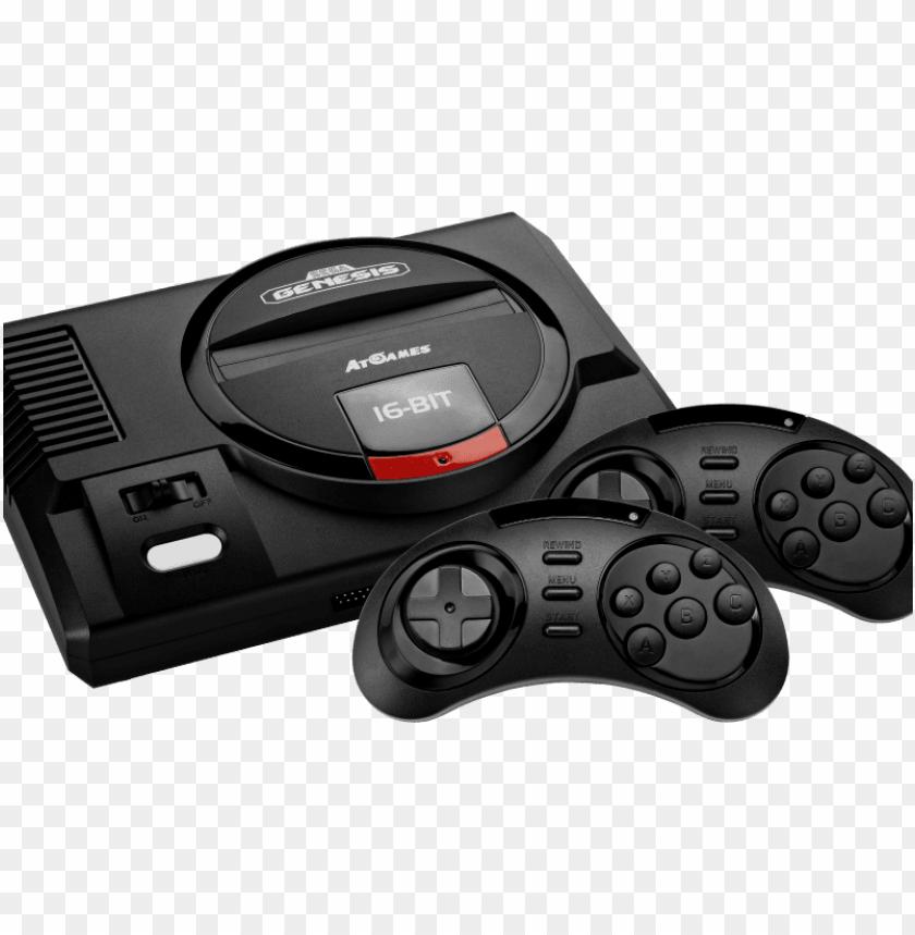 Samples Of The Upcoming Sega Genesis Flashback Console Sega Mega Drive Mini Png Image With Transparent Background Toppng
