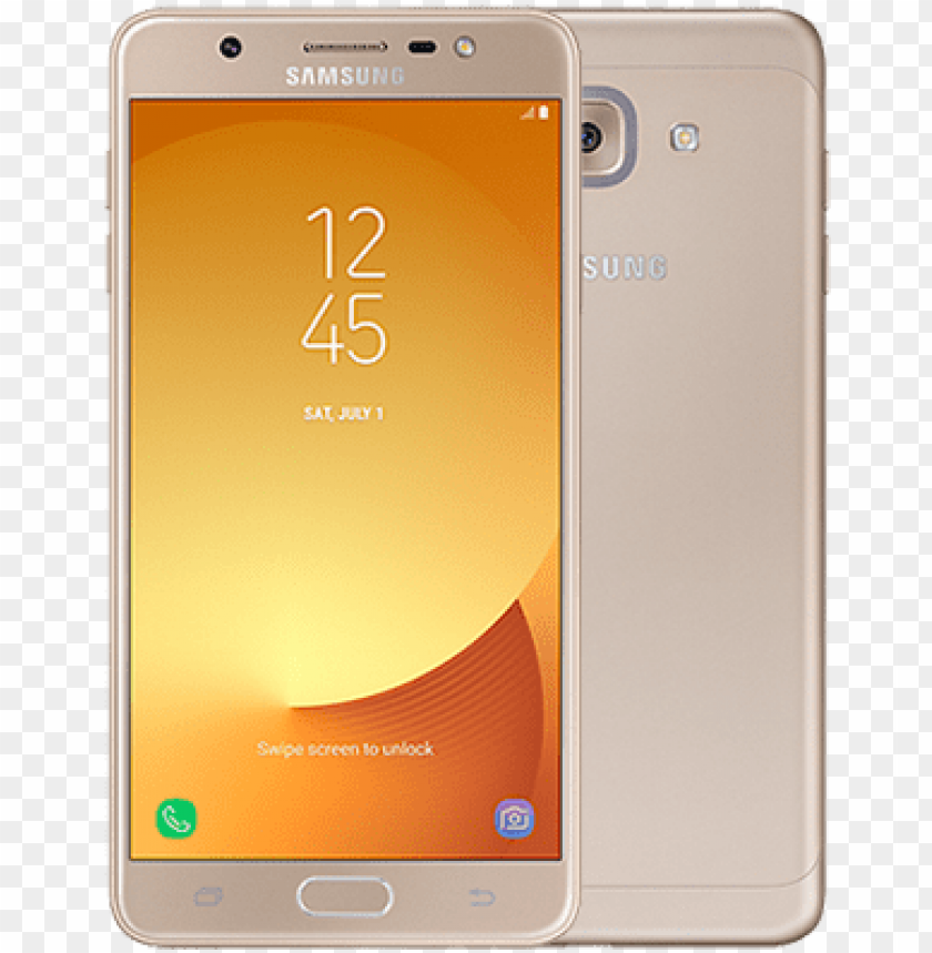 Samsung Galaxy J7 Max Gold 32gb Mobile Phone Png Image With Transparent Background Toppng