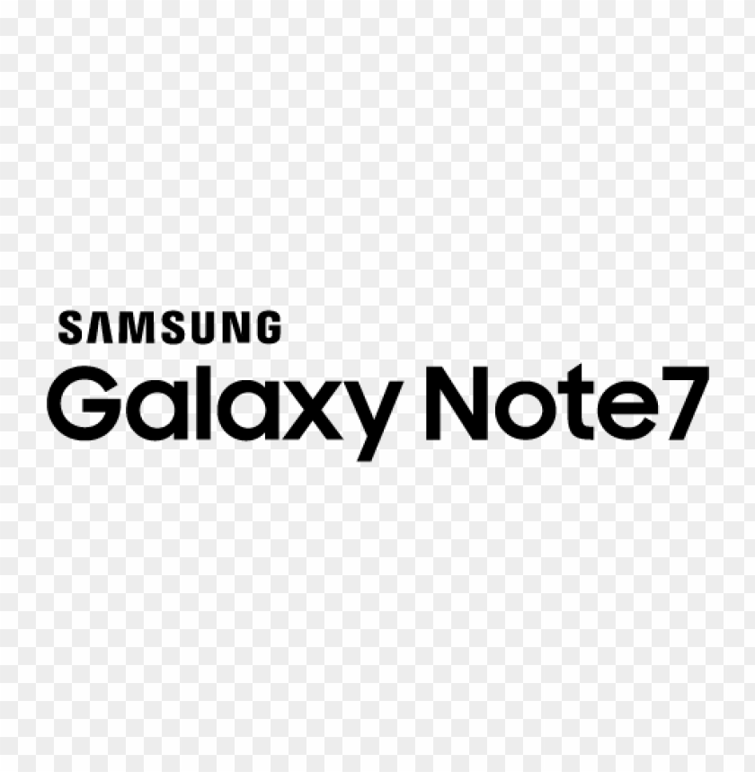 free PNG samsung galaxy note7 logo vector PNG images transparent