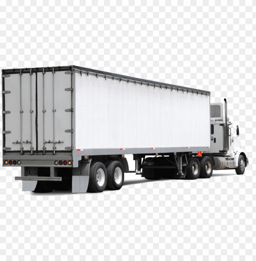 free PNG san antonio trailer repairs - back of white semi truck PNG image with transparent background PNG images transparent