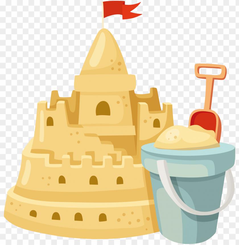 free PNG sand art and play clip art - clipart transparent background sand castle PNG image with transparent background PNG images transparent