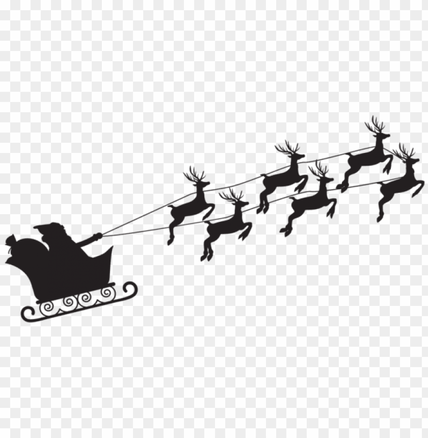 free PNG santa claus silhouette png PNG Images PNG images transparent