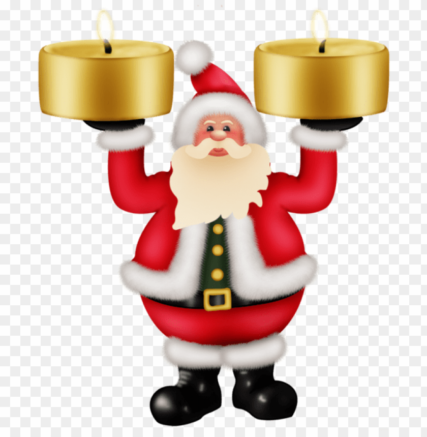 free PNG santa claus with candles png clipat PNG Images PNG images transparent