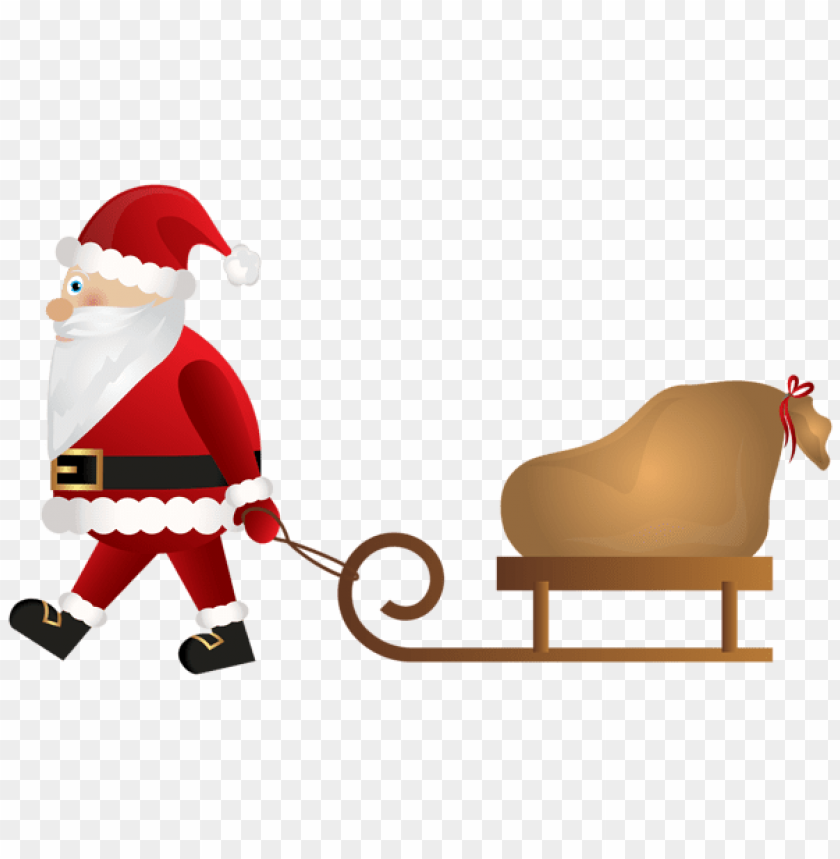 free PNG santa claus with sleigh png PNG Images PNG images transparent