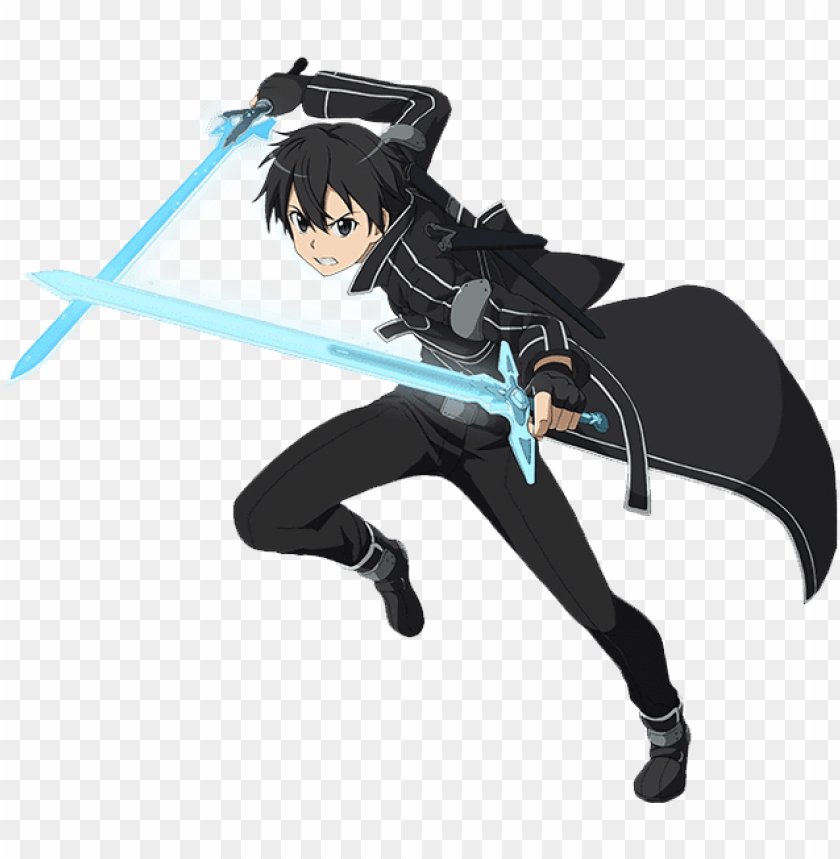 free PNG sao drawing cute - sword art online kirito PNG image with transparent background PNG images transparent