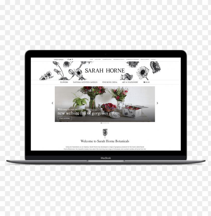 free PNG sarah horne - ecommerce website - website PNG image with transparent background PNG images transparent