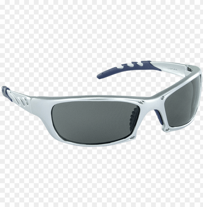 free PNG sas 542-0201 gtr safety glasses silver frame gray lens - occhiali fotocromatici da bici PNG image with transparent background PNG images transparent