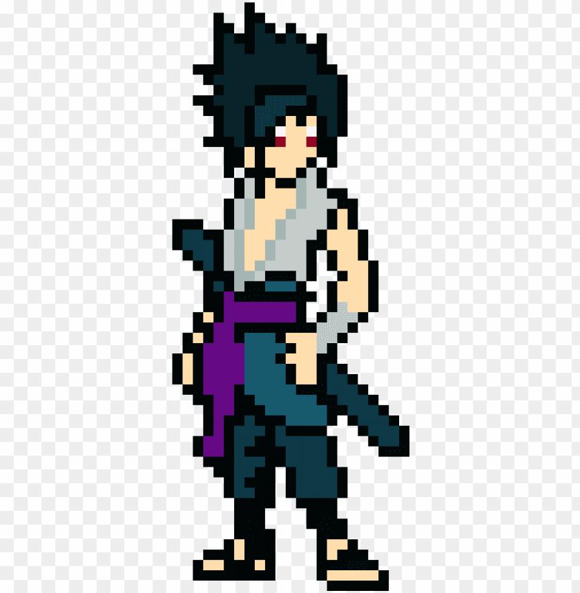 free PNG sasuke - sasuke pixel art minecraft PNG image with transparent background PNG images transparent
