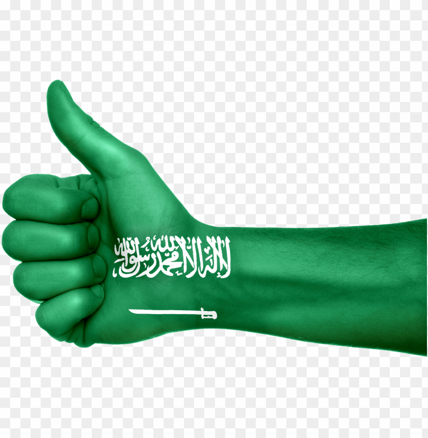 free PNG saudi arabia flag hand country png - Free PNG Images PNG images transparent