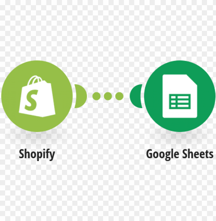 free PNG save new paid shopify orders to a google sheets spreadsheet - shopify PNG image with transparent background PNG images transparent