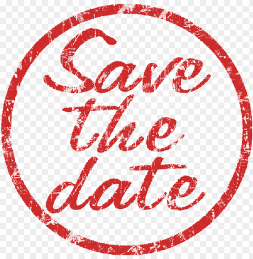 free PNG save the date stamp - save the date PNG image with transparent background PNG images transparent