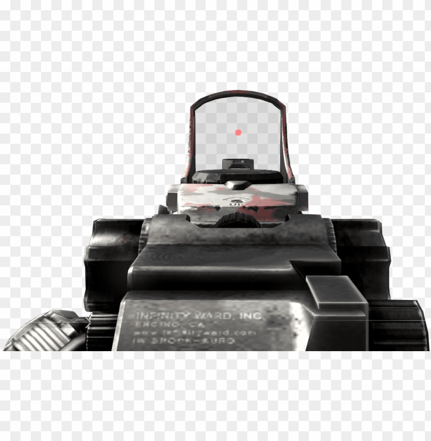free PNG scar-h red dot sight ads mw2 - red dot sight black ops 2 PNG image with transparent background PNG images transparent