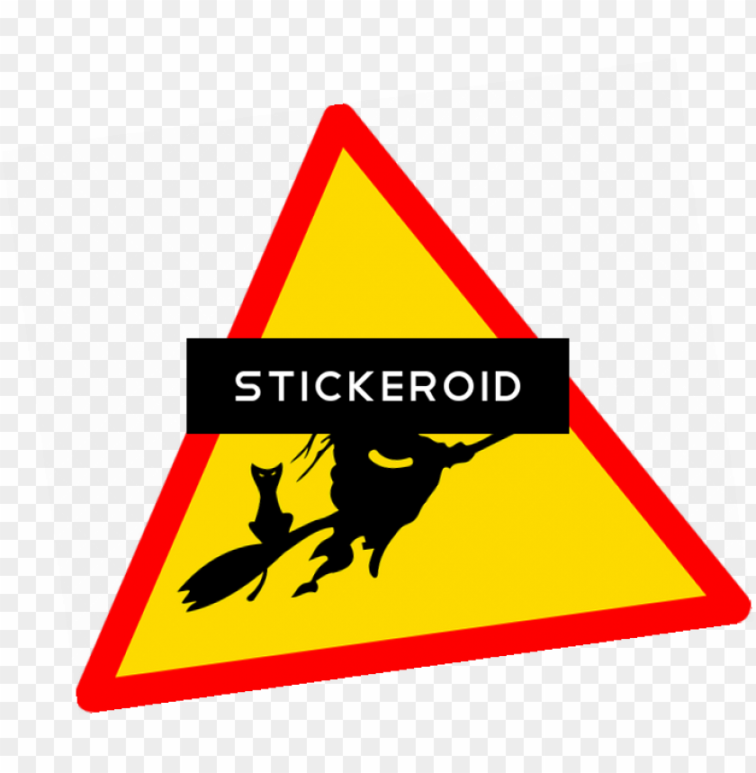 free PNG scarlet witch - halloween warning sign PNG image with transparent background PNG images transparent
