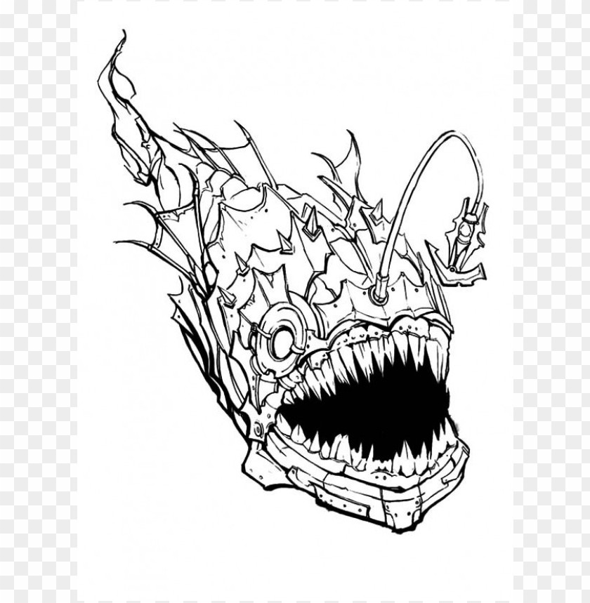 Scary Coloring Pages Color Png Image With Transparent Background Toppng