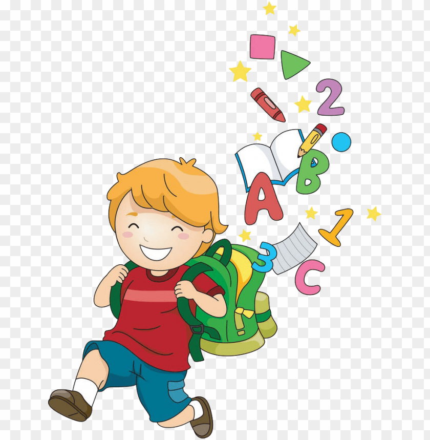 free PNG school child cartoon clip art - children school clip art PNG image with transparent background PNG images transparent