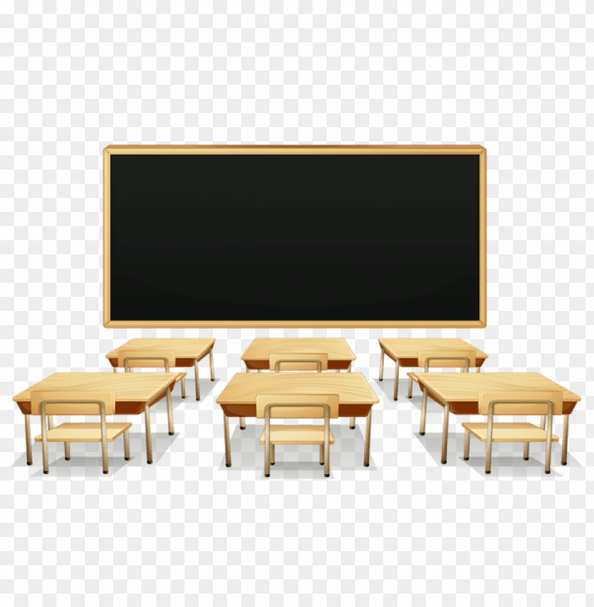 free PNG Download school classroom with blackboard and deskspicture clipart png photo   PNG images transparent