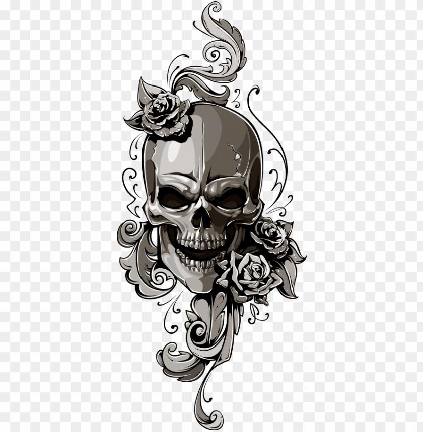 free PNG school old skull human symbolism - old school tattoo skull PNG image with transparent background PNG images transparent