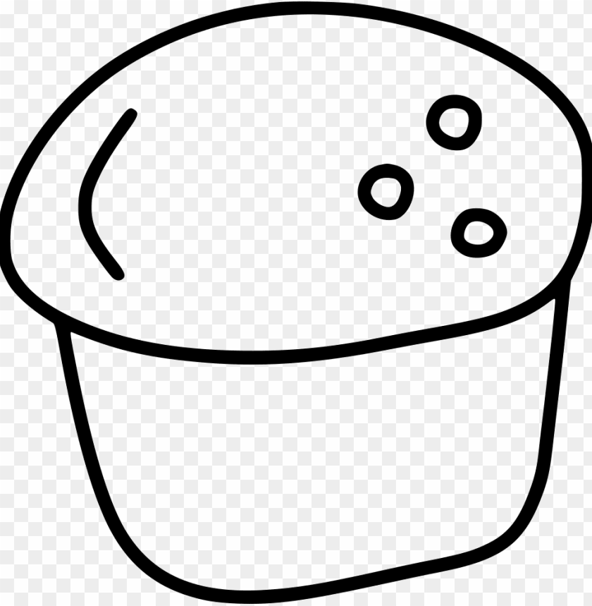 free PNG scone pastry dessert cake bake comments - line art PNG image with transparent background PNG images transparent